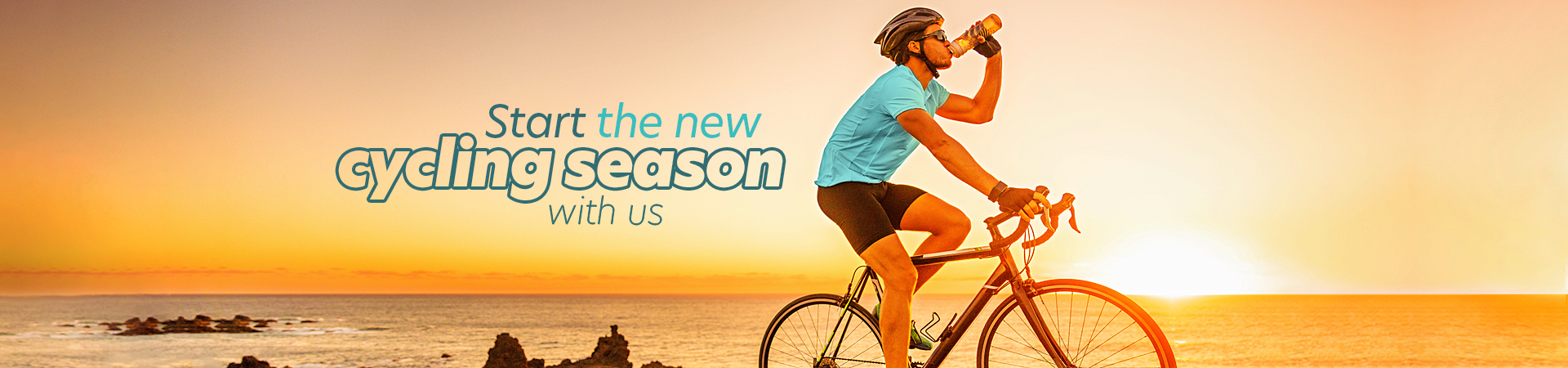 Start the new cycling season with us