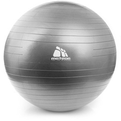 FITNESS BALL METEOR 85 cm silver